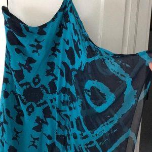 Jay Godfrey size 4 teal dress